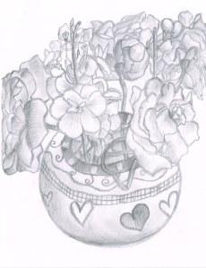 flowers in pot02182014